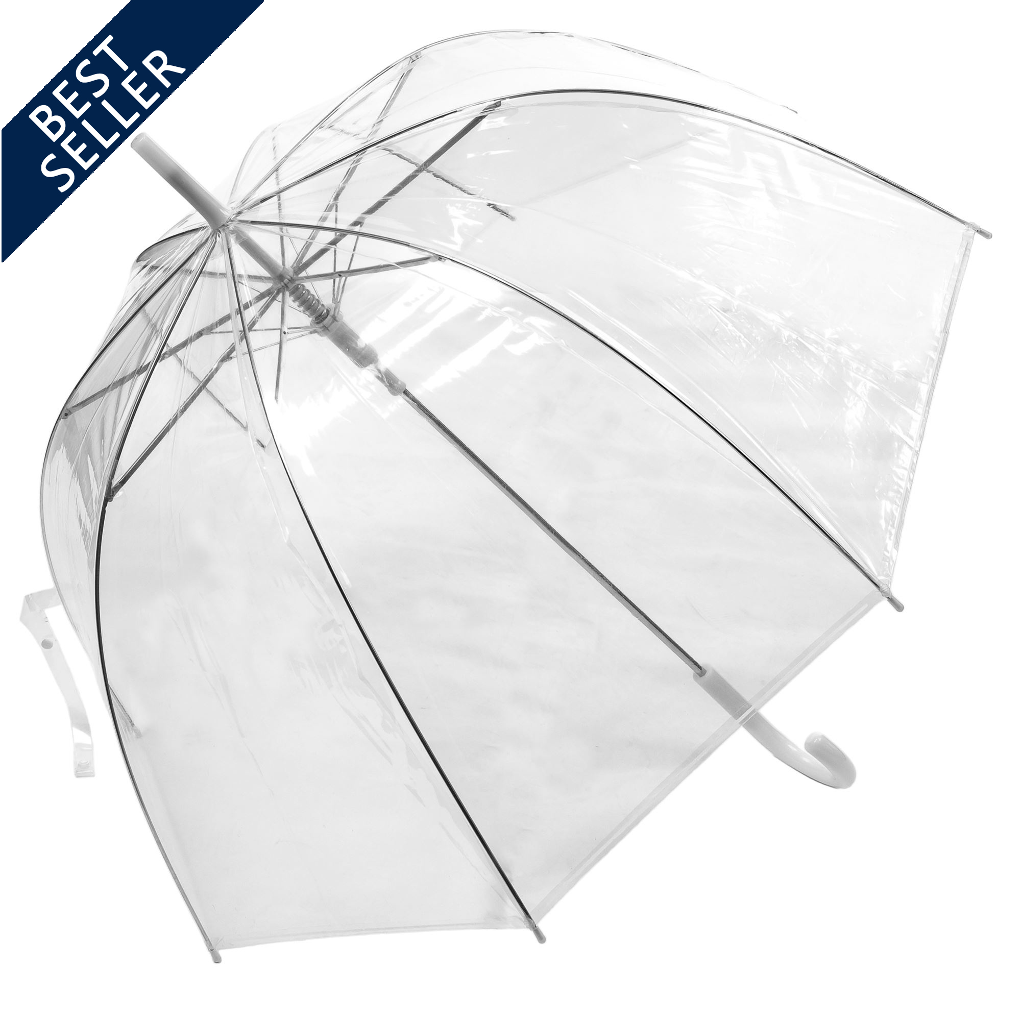 Click to view Auto Open Clear Dome Umbrella (3476)