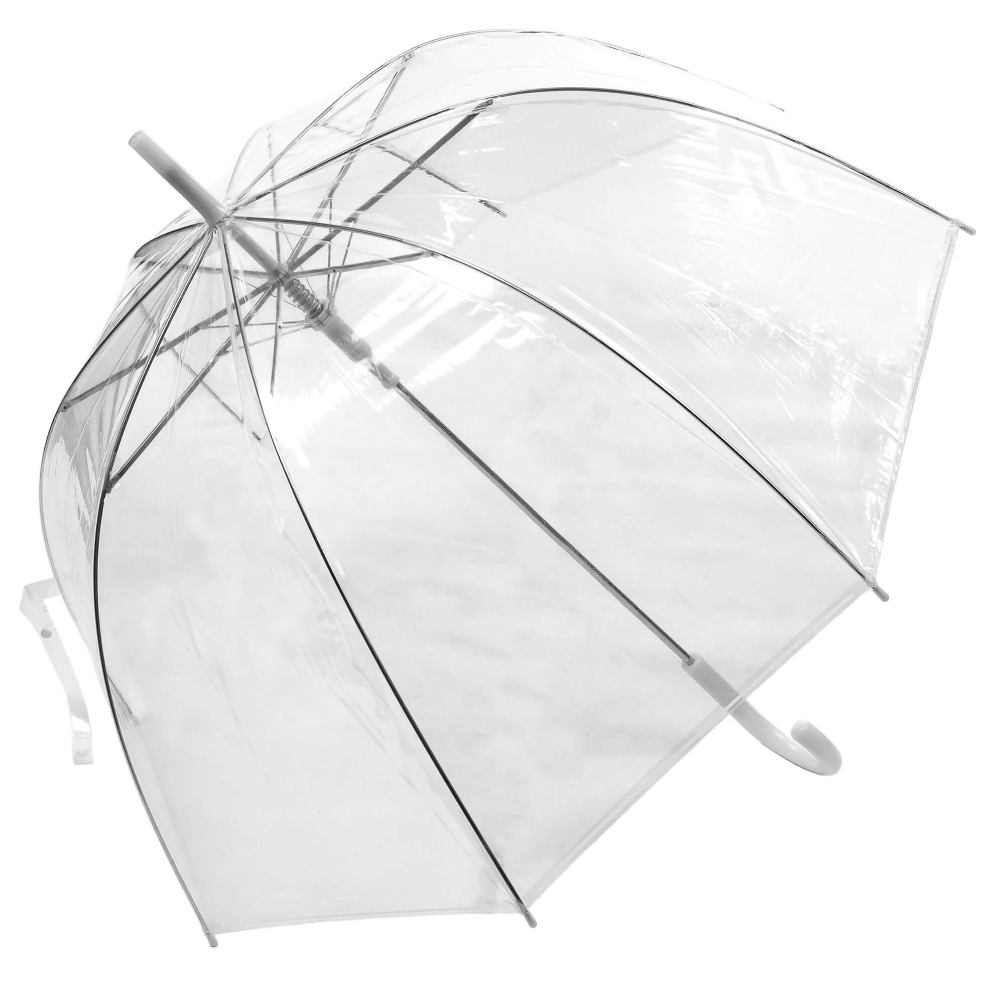 Auto Open Clear Dome Umbrella (3476)
