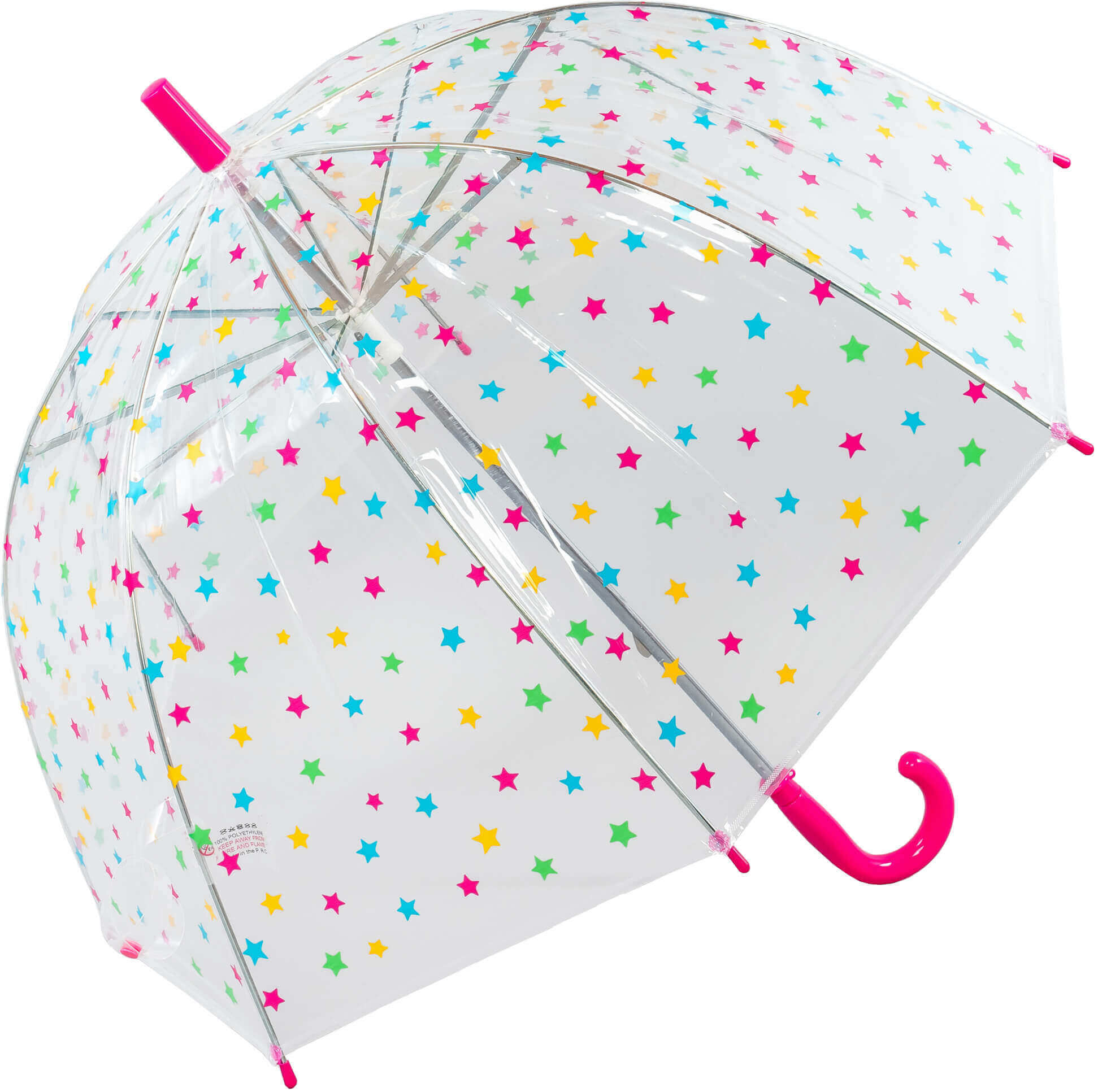Kids Star Clear Umbrella (18011)