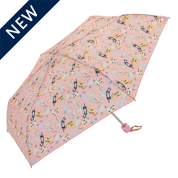 Pink Cats Women's Compact Umbrella (31103P)